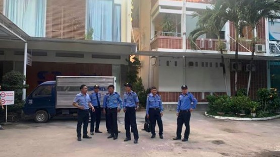 Deploying professional security force at 22-12 Hospital